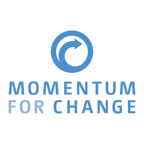 "Logo ""Momentum for Change"""