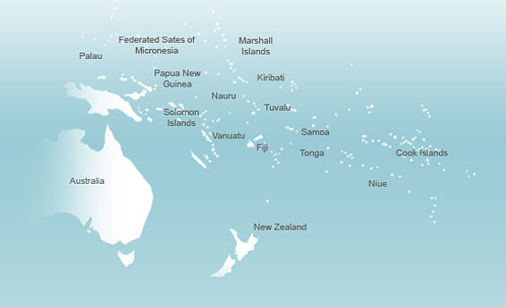 Inselstaat Im Pazifik